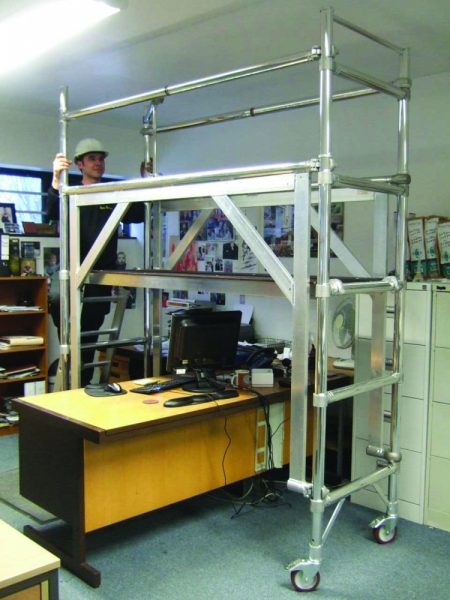 Deskspan – High Clearance Tower Unit