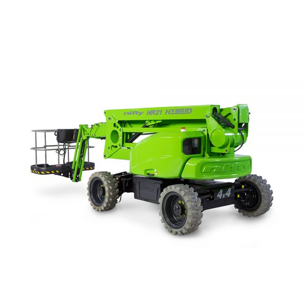 HR21 Self Propelled Boom Lift – Niftylift Hybrid 4WD