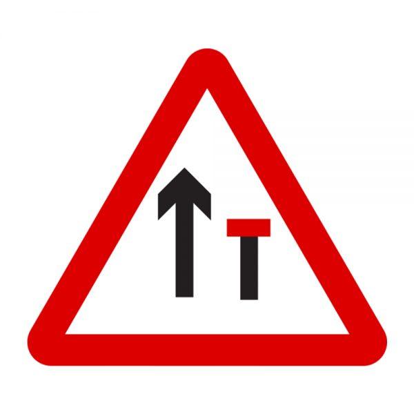 Road Sign – Lane Closed