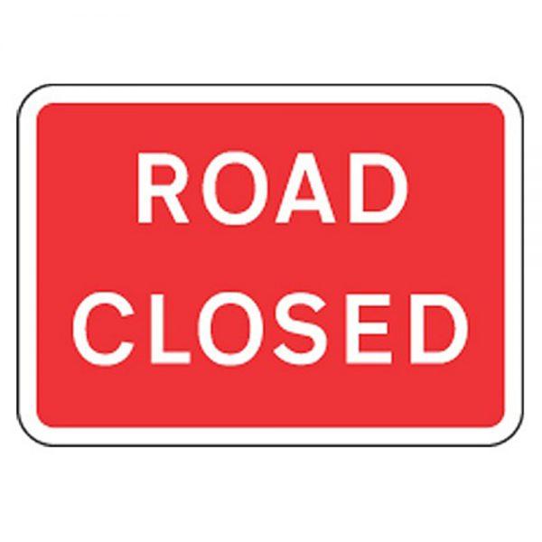 Road Sign – Road Closed