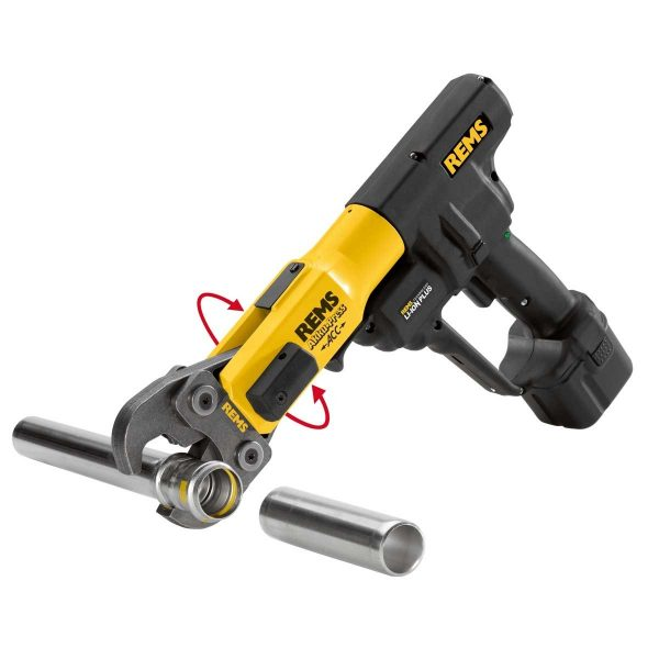 Cordless Pipe Power Press – 15mm-35mm