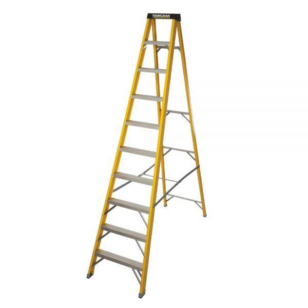 10 Tread GRP Step Ladder