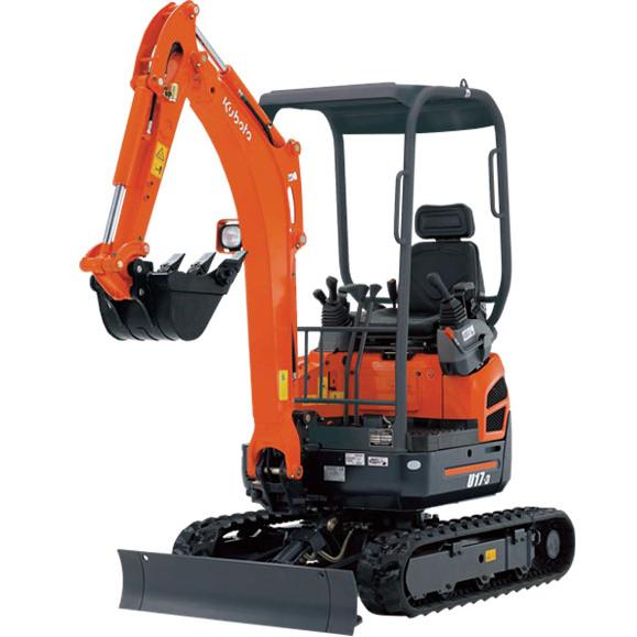 Mini Digger – Kubota U17-3 1.7 Ton