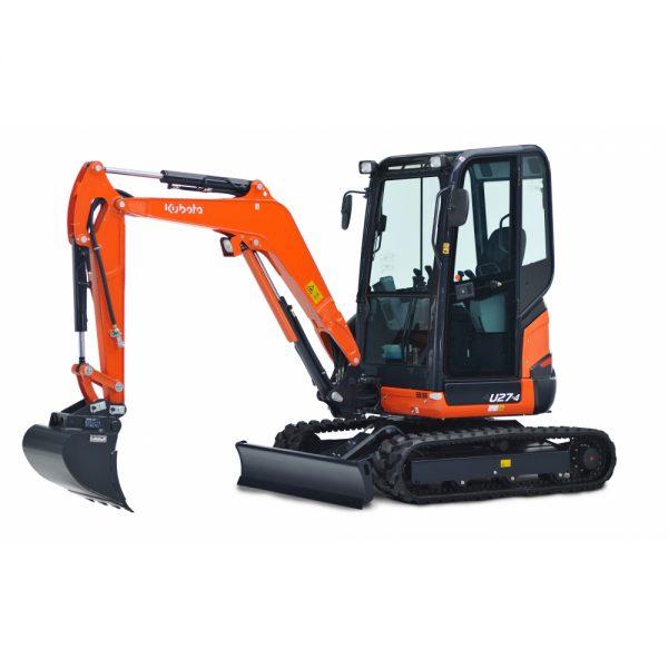 Digger – Kubota U27-4 2.7 Ton